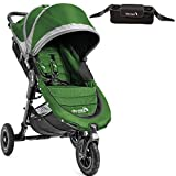 Baby Jogger 1959405KT- City Mini GT Single Stroller With Parent Console- Evergreen Gray