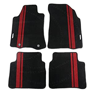 LT Sport Custom Fit 14-16 Nissan Altima Stylish Nylon Floor Mats Carpet