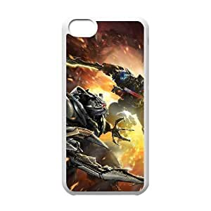 LJF phone case C-EUR Print Transformers Pattern Hard Case for iphone 4/4s