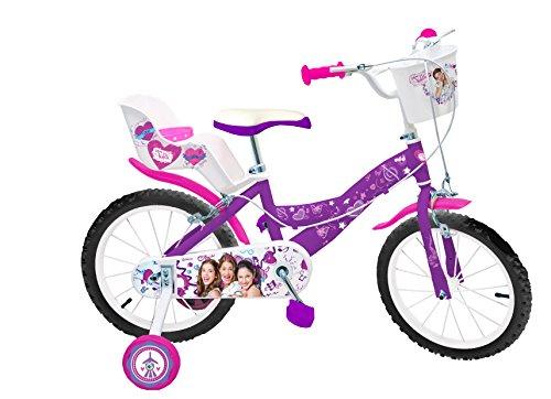 """Toimsa - 587 - Vélo Pour Enfant - Fille - Violetta - 16"""" - 5-8 Ans"""