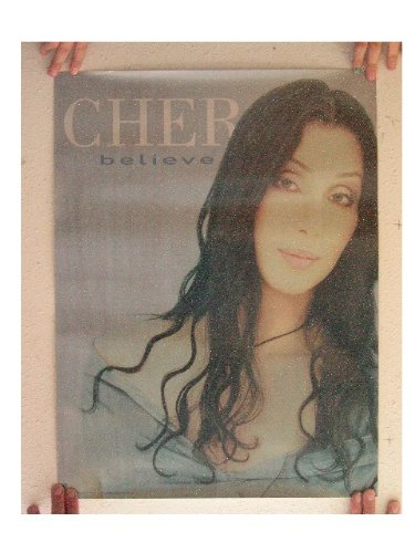 Cher Poster Young Believe Blue