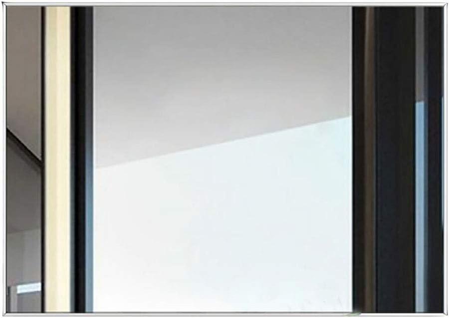 YiYi Bathroom mirror Espejo de baño, de Pared Espejo Decorativo Moderno contemporáneo del Maquillaje del Hotel del baño del diseño HD del Marco para la Cabina: Amazon.es: Hogar