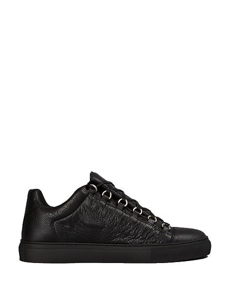 balenciaga scarpe uomo  Balenciaga Sneakers Uomo 412380WAY401000-MCA Pelle Nero:  ...