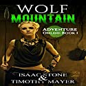 Wolf Mountain: Adventure Online, Book 1 Audiobook by Isaac Stone, Timothy Mayer Narrated by J. Scott Bennett