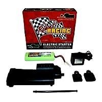 Kit de arranque eléctrico Redcat Racing - Completo con pistola de inicio, 2 placas posteriores, batería, cargador y varita