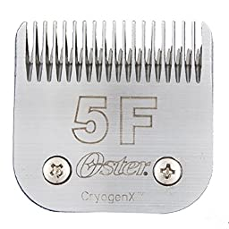 Oster Elite CryogenX Professional Animal Clipper Blade, Size # 5F