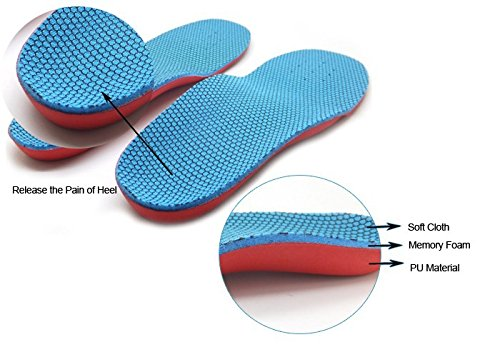 EVA Arch Support Insoles Orthotic Orthopedic Shoe Inserts For Kids Children SP