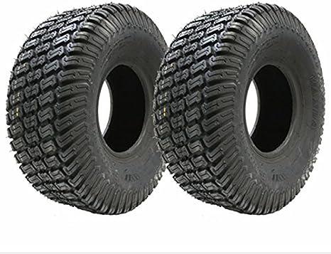 Rasenmäher Reifen 15 X 6 00 6 4pr 369 X 160 Mm Für Aufsitzrasenmäher 2er Set Auto