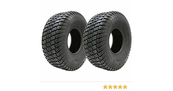 Juego de dos - 13x5.00-6 césped 4ply neumáticos cortadora de ...