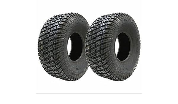 2 - 15x6.00-6 4ply hierba césped césped neumático de la cortadora de césped: Amazon.es: Coche y moto