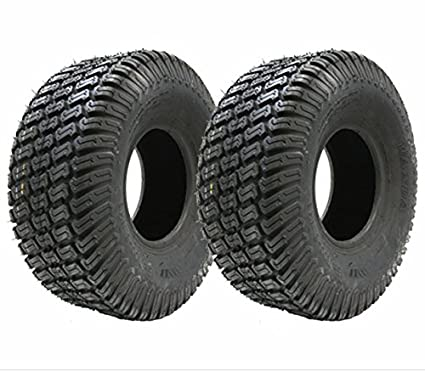 Juego de dos - 13x5.00-6 césped 4ply neumáticos cortadora de césped de