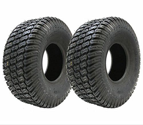 Set of two - 13x5.00-6 4ply turf grass lawn mower tyre 13 500 6 tire ride on lawnmower Wanda