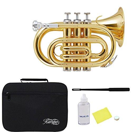 Kaerntner Pocket Trumpet KTR-33P/GD (Gold) by Kaerntner