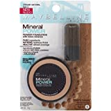 Maybelline New York Mineral Power Powder Foundation, Creamy Natural, 0.28 Ounce