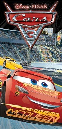 Disney Cars 3 Lightning McQueen Rad Racers Beach Towel