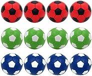 Foosball Balls Replacement Balls,Foose Balls Balls,BQSPT Mini Foosball Ball 36mm,Foosball Balls Official,Multi