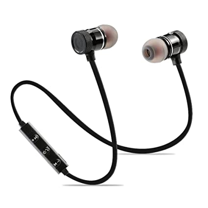 Auriculares Bluetooth,Hangrui Magnetizado Auriculares intrauditivos Bluetooth Sport Auriculares Deportivos magnéticos Estéreo Resistentes a los