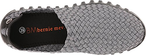 Bernie Mev Womens Zip Gem W / Pipe Grijs Gespikkeld / Grijze Pijp