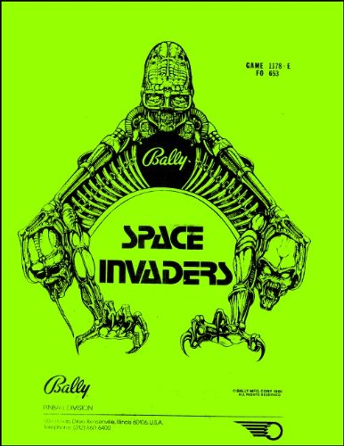 Space Invaders Pinball Service & Repair Manual
