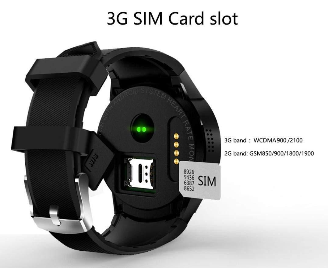 Bbiao Reloj inteligente Reloj inteligente con Bluetooth 3G, con ...
