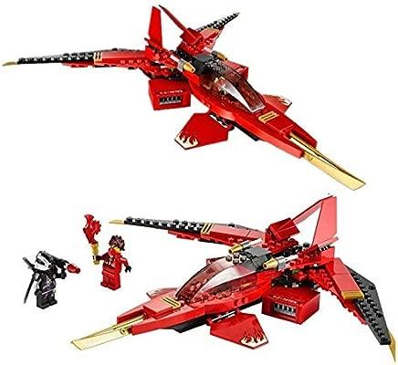 Ninja Rojo Avión & 2 mini figuras súper SAMURAI HEROES ...