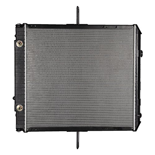 OCPTY Aluminum Truck Radiator Replacement fit for 2005-2008 GMC W3500 2005-2010 GMC W4500 2005-2009 GMC W5500HD 2004-2009 Isuzu NPR - Isuzu Truck Radiator