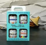 Gourmet Healthy Cooking Sauce Gift Pack - Vegetarian | Vegan | Paleo | Includes Whole30 Approved Cooking Sauces