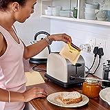 "NeeJee Non-stick Toaster Bag Toastied Oven Sandwish Reusable Baking Pocket-Pack of 2,6.7"" x"