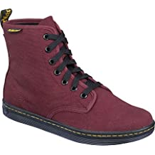 Dr. Martens Women's Shoreditch - Cherry Red Canvas