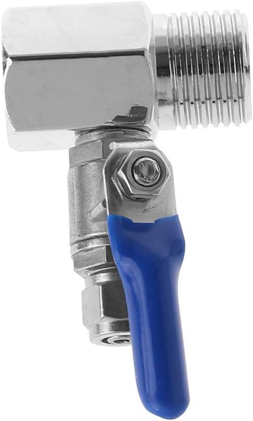 Xuniu V/álvula de Bola de Entrada con purificador de Agua con /ósmosis inversa Juego DE 1//2 BSP a Tubo DE 1//4
