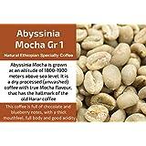 Abyssinia Mocha Gr 1 - Unroasted Natural Ethiopian Coffee (1 Kg / 2.2 Lbs)