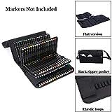 NIUTOP 171 Slots Marker Pen Case Markers Carrying