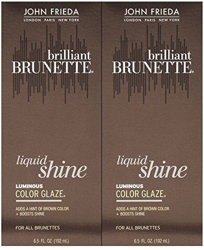 John Frieda Luminous Color Glaze Brilliant Brunette Luminous, 6.5 oz, 2 pk by John Frieda
