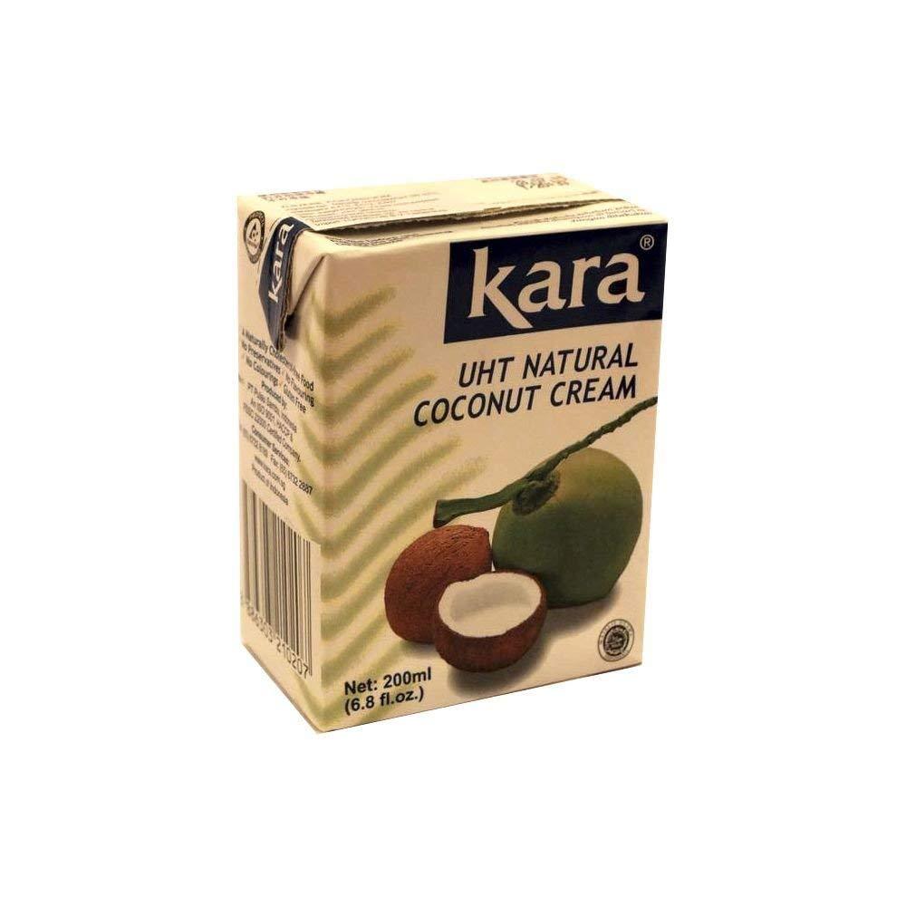 Kara, Cream Coconut Natural, 6.8 Ounce