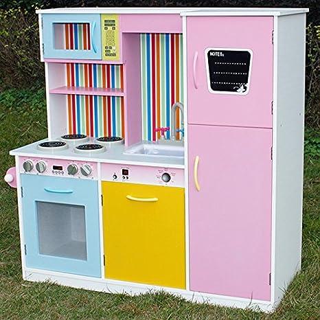 kempetoys 'Cucina per bambini Cucina Giocattolo Genia in legno per