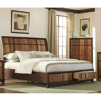 Amazon.com: Overstock LYKE Home Ace Two-Tone Brown & Natural ...