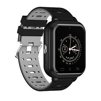 DQMSB Reloj Inteligente 4G Completa Netcom WiFi, la Utilidad del Monitor de frecuencia cardíaca Deportes de Bluetooth (Color : Gray): Amazon.es: Hogar