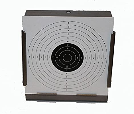 Multi Black /& White Card CARABINA obiettivi//14cm o 17cm//Aria Rifle Pistola TIRO