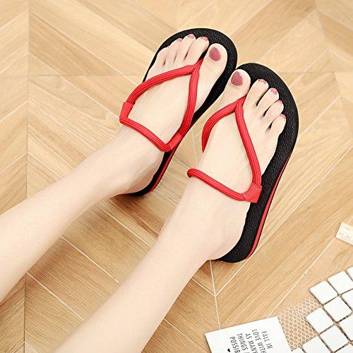 Pantofole Donna nine gomma pigro Thirty scarpe donna pantofole pantofole Summer usura scivolose Urwq4U