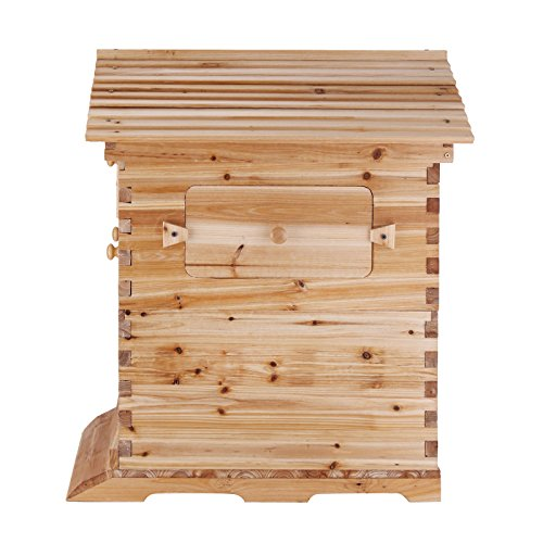 VEVOR Beehive Frames Wooden Beehive Frames Bulk Automatic Honey ...