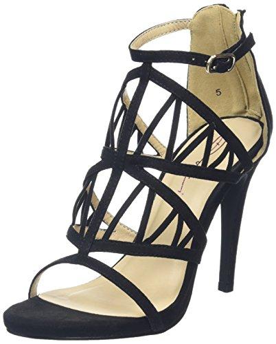 Noir Black Sandales Femme Perri Dolcis 80vqYY