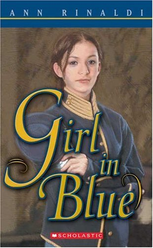 By Ann Rinaldi Girl In Blue (Reprint) (Girl In Blue By Ann Rinaldi)