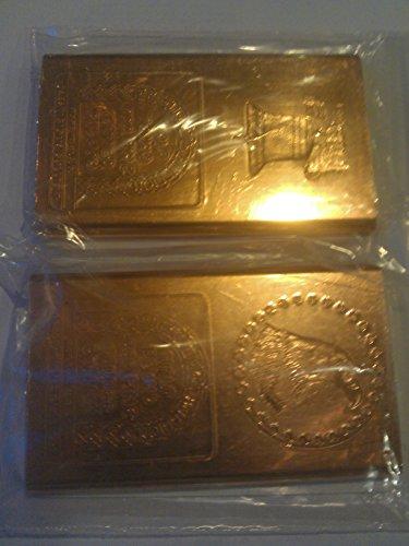 - Half Pound Copper Bars-2 Pack