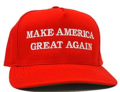 Make America Great Again Hat - Embriodered Just Like Donald Trump's - Red