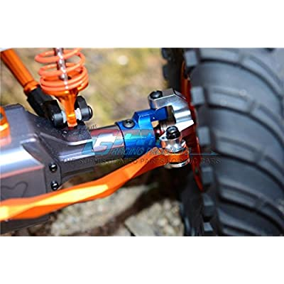 Axial Wraith & RR10 Bomber Upgrade Parts Aluminum Steering Link - 2Pcs Set Green: Toys & Games