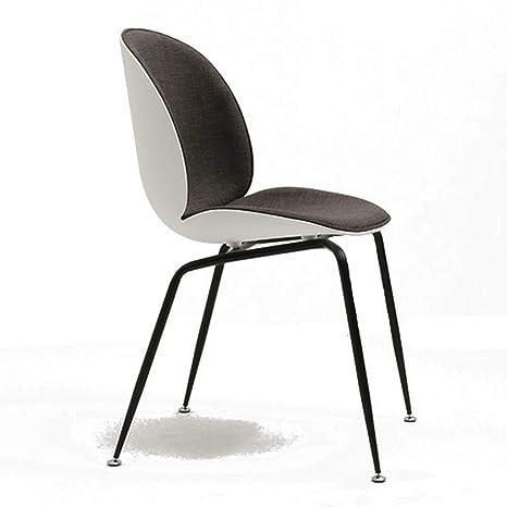 Amazon.com: Sillas de comedor silla de asiento de color ...