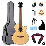 AKLOT Acoustic Guitar Full Size 38 inch Spruce