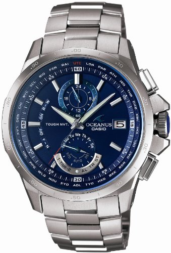 CASIO OCEANUS tough solar radio watch MULTIBAND 6 [limited edition] OCW-T1000F-2AJF men'swatch