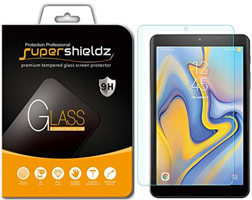 Supershieldz for Samsung Galaxy Tab A 8.0 inch (2018) (SM-T387 Model) Tempered Glass Screen Protector, Anti Scratch, Bubble Free (Galaxy 8 Protector Tablet Screen)