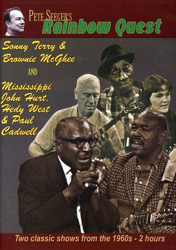 DVD : Pete Seeger - Pete Seeger's Rainbow Quest: Sonny Terry & Brownie Mcghee And Mississippi John Hurt, Hedy West & Paul Cadwell (DVD)